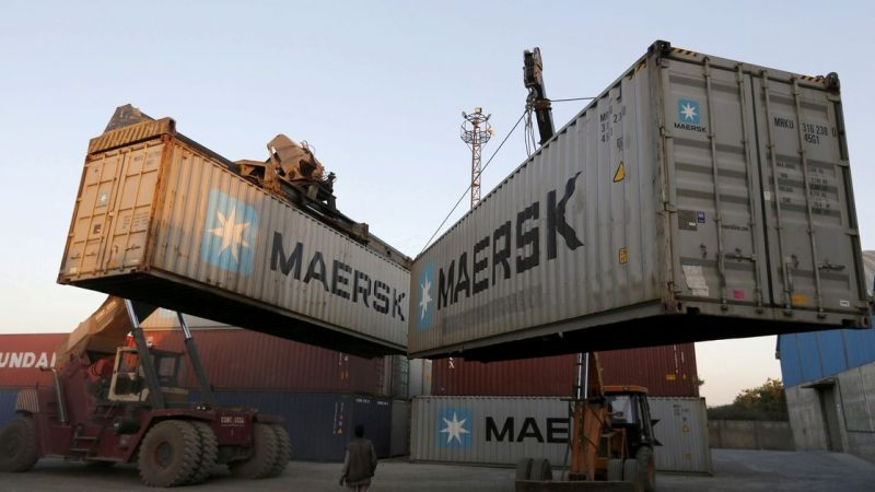 Maersk lifts outlook as supply chain disruptions push up shipping rates