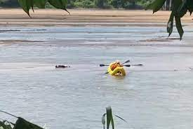 Firefighters discover 'body in the river' was a swimmer relaxing