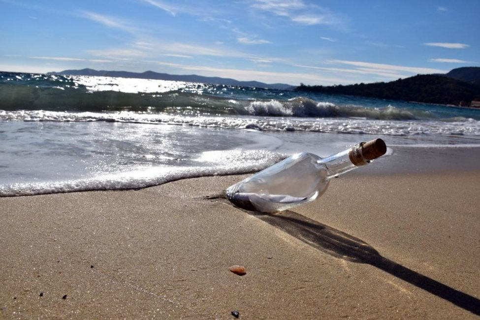 Irish boys find message in a bottle from Canadian fisherman